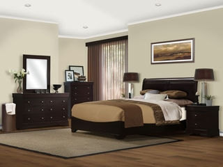 5-Piece Bedroom Furniture Set with Queen Size Bed - Sydney - Lifestyle Solutions - SS3-SDY-5QN-SET