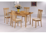 5-Piece Dining Set 2 in Maple / Natural - Coaster