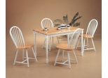 5-Piece Dining Set 2 in Natural / White - Coaster