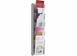 5 Pocket ALBA Grey Wall Document Display