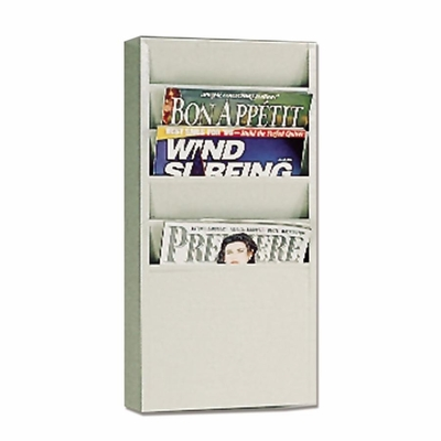 5 Pocket Putty Literature Display Rack - BDY8116