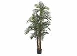5' Robellini Palm Silk Tree in Green - Nearly Natural - 5283
