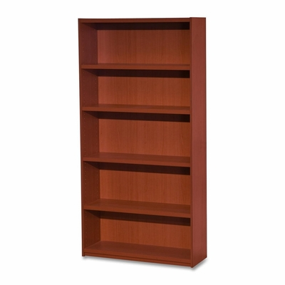5-Shelf Bookcase - Cherry - LLR68598