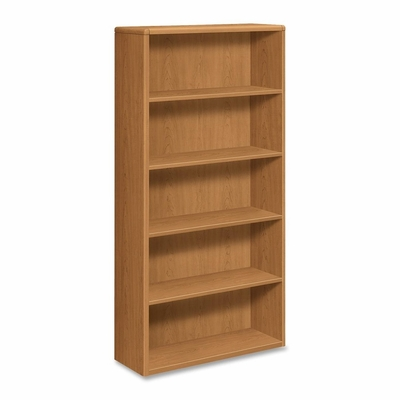 5-Shelf Bookcase - Harvest - HON10755C