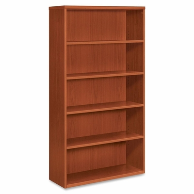 5-Shelf Bookcase - Henna Cherry - HONPC673XVXJJ