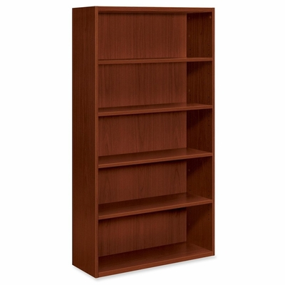 5-Shelf Bookcase - Henna Cherry - HONVW612XJJ