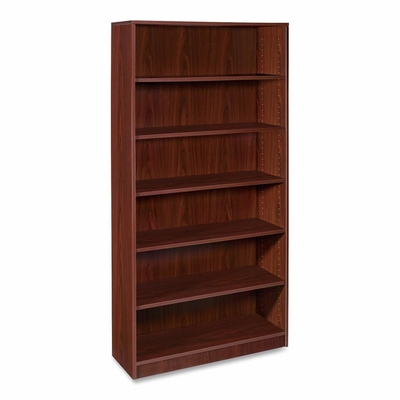 5-Shelf Bookcase - Mahogany - LLR69494
