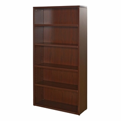 5-Shelf Bookcase - Mahogany - LLR87267