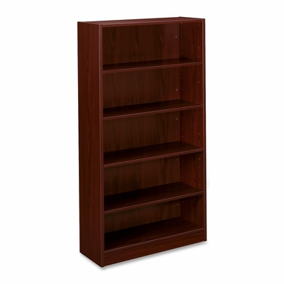 5-Shelf Bookcase - Mahongay - BSXBL2194NN