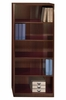 5-Shelf Bookcase - Quantum Harvest Cherry Collection - Bush Office Furniture - QT3605CS