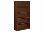 5-Shelf Bookcase - Shaker Cherry - HONPC673XVXFF