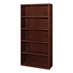 5-shelf Bookcases - Mahogany - HON11855NN
