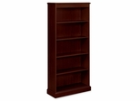 5-Shelf Laminate Bookcase - Mahogany - HON94225NN