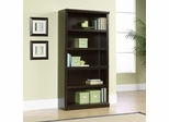 5 Shelf Split Bookcase Jamocha Wood - Sauder Furniture - 410375