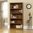5 Shelf Split Bookcase Oiled Oak - Sauder Furniture - 410367