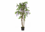 5' Wisteria Silk Tree in Purple - Nearly Natural - 5015-PP