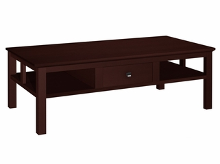 "50"" Contemporary Asian Style Coffee Table in Wenge - FT50AC"