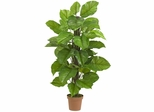 "52"" Large Leaf Philodendron Silk Plant(Real Touch) - Nearly Natural - 6583"