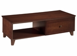 "54"" Shaker Style Coffee Table in Dark Cherry - FT54SC"