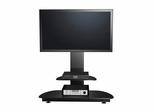 "55"" Flat Panel Plasma LCD HD Bracket Mount TV Stand / Media Console Center in Glossy Black - TVS-6891000-2"