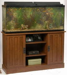 55 Gallon Cherry Aquarium Stand - Ameriwood Industries - 48935