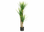 "58.5"" Yucca Silk Tree in Green - Nearly Natural - 5237"