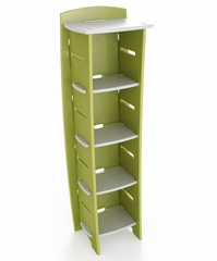 "59"" x 18"" Bookcase - Legare Furniture - BCGM-110"