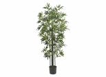 6' Bamboo Silk Tree in Green - Nearly Natural - 5294