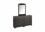 6 Drawer Double Dresser & Mirror Set - Nexera Furniture