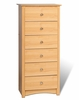 6 Drawer Lingerie Chest in Maple - Sonoma Collection - Prepac Furniture - MDC-2354