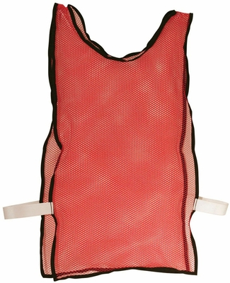 6 Pack Red Training Pinnies - Franklin Sports