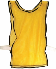 6 Pack Yellow Training Pinnies - Franklin Sports