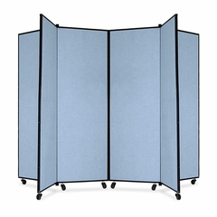 6 Panel Mobile Tower Display - Blue - SCXCDS606CB
