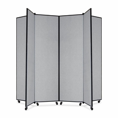 6 Panel Mobile Tower Display - Gray - SCXCDS686CG