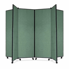 6 Panel Mobile Tower Display - Green - SCXCDS606CN