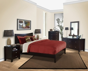 6-Piece Bedroom Furniture Set with Cal King Size Bed - Canova - Lifestyle Solutions - CNV-6PCK-CP-SET