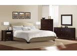 6-Piece Bedroom Furniture Set with Queen Size Bed - Magnolia - Lifestyle Solutions - MGL-6PQN-CP-SET
