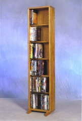 6 Row Dowel 120 Capacity DVD Cabinet Tower - 615-12