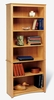 6 Shelf Bookcase in Maple - Sonoma Collection - Prepac Furniture - MDL-3277