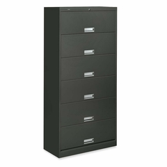 6-Shelf Legal File - Charcoal - HON626CLS