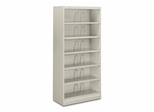 6-Shelf Open File - Light Gray - HON626CNQ