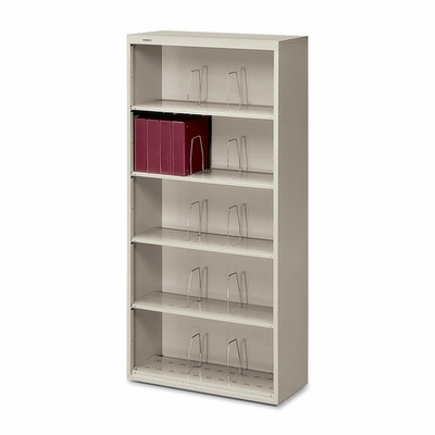 6-Shelf Open File - Light Gray - HON626NQ