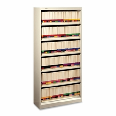 6-Shelf Open File - Putty - HON626NL