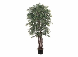 6' Smilax Silk Tree in Green - Nearly Natural - 5020