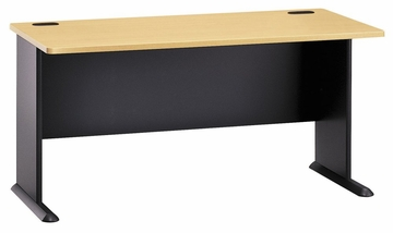 "60"" Desk - Series A Beech Collection - Bush Office Furniture - WC14360"