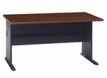 "60"" Desk - Series A Hansen Cherry Collection - Bush Office Furniture - WC90460A"