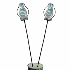 "60"" Garden Stake with Love Torch (Set of 2) - Pangaea Home and Garden Furniture - DS-C3052-SET2"