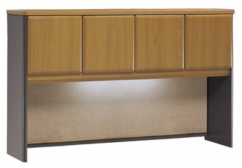 "60"" Hutch - Series A Natural Cherry Collection - Bush Office Furniture - WC57461"