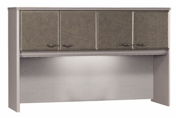 "60"" Hutch - Series A Pewter Collection - Bush Office Furniture - WC14561"