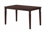 60 Inch Bentley Wood Dining Table in Espresso - TW60BES